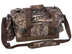 Drake Double Banded Large Floating Blind Bag with Swampsole Bottom Nylon Mossy Oak Shadow Grass