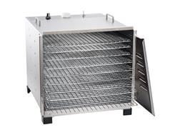 LEM 10 Tray Dehydrator With Analog Timer Stainless Steel
