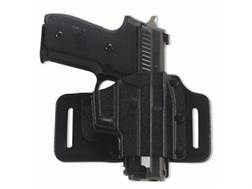 Galco Tac Slide Belt Holster Right Hand Ruger SR9, SR40, SR9C, SR40C Leather and Kydex Black