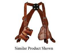 "Bianchi X16 Agent X Shoulder Holster System Right Hand Colt Lawman, S&W K-Frame 2"" Barrel Leather..."