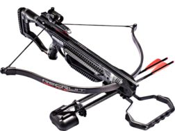 Barnett Recruit Recurve Crossbow Package with Red Dot Sight Black