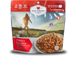 Wise Food Outdoor Cheesy Lasagna Freeze Dried Food Pack of 6