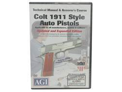 "American Gunsmithing Institute (AGI) Technical Manual & Armorer's Course Video ""Colt 1911 .45 Aut..."