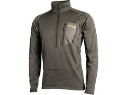 Sitka Gear Men's Core Heavyweight Zip Shirt Long Sleeve Polyester Pyrite Small