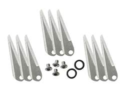 Ramcat Original 3-Blade Fixed Blade Broadhead Replacement Blade Stainless Steel Pack of 9