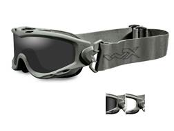 Wiley X Spear Tactical Goggles Foliage Green Frame, Smoke Grey and Clear Lens