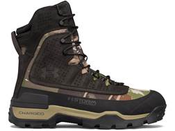 "Under Armour UA Brow Tine 2.0 8"" 400 Gram Insulated Waterproof Hunting Boots Leather"
