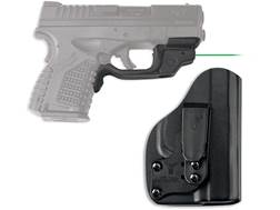 Crimson Trace Laserguard Springfield XD-S 4.0 9mm, 45 ACP Red Laser Polymer Black