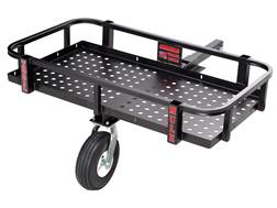 Swisher Trail Mule ATV/UTV Tow Behind Trailer Steel Black