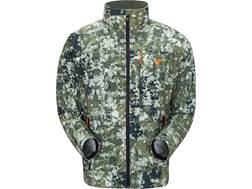 Plythal Men's Scrapeline 1.0 Lightweight Scent Control Jacket Polyester Digital Forest Camo