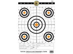 """Do-All Precision Target 12"""" x 18"""" Paper Target Package of 10"""