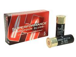 "Hornady Superformance Ammunition 12 Gauge 2-3/4"" 300 Grain MonoFlex Sabot Slug Box of 5"