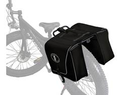 Rambo Bikes Waterproof Saddle Bag Black
