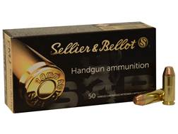 Sellier & Bellot Ammunition 10mm Auto 180 Grain Full Metal Jacket