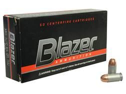 Blazer Ammunition 380 ACP 95 Grain Full Metal Jacket Box of 50