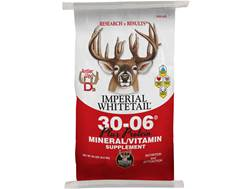 "Whitetail Institute 30-06 Mineral/Vitamin ""Plus Protein"" Deer Supplement Granular 20 lb"
