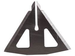 Muzzy 4-Blade 100 Grain MX-4 Broadhead Replacement Blades Stainless Steel Pack of 12