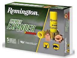 "Remington Premier Expander Slug Ammunition 20 Gauge 3"" 250 Grain Barnes Polymer Tipped Copper Sab..."