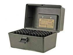 "MTM Shotshell Box with Handle 12 Gauge 2-3/4"", 3"" 100-Round Plastic Camo"