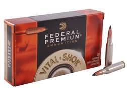 Federal Premium Vital-Shok Ammunition 7mm-08 Remington 140 Grain Trophy Copper Tipped Boat Tail L...
