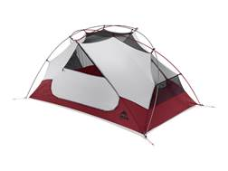"MSR Elixir 2 Man Modified Dome Tent 84"" x 50"" x 40"" Polyester Red and White"