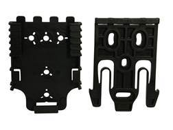 Safariland Quick Locking System Kit with QLS 19 and QLS 22L Polymer Black