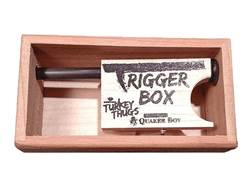 Quaker Boy Turkey Thugs Trigger Box Push/Pull Turkey Call