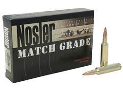 Nosler Match Grade Ammunition 6.5mm-284 Norma 140 Grain Custom Competition Hollow Point Boat Tail...