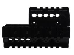 Midwest Industries 2-Piece Handguard Quad Rail Mini Draco AK-47 Pistol Aluminum Black- Blemished