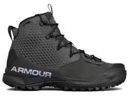 "Under Armour UA Infil Hike GTX 6"" Waterproof Hiking Boots Leather Nori Green Men's 13 D- Blemished"