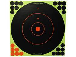 "Birchwood Casey Shoot-N-C Targets 12"" Round Pack of 5 with 120 Pasters"