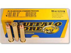 Buffalo Bore Ammunition 45-70 Government 300 Grain Jacketed Hollow Point Low Recoil Standard Pres...