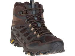 """Merrell Moab FST Mid 5"""" Waterproof Hiking Boots Leather/Synthetic Men's"""