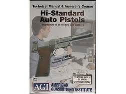 "American Gunsmithing Institute (AGI) Technical Manual & Armorer's Course Video ""High Standard Aut..."