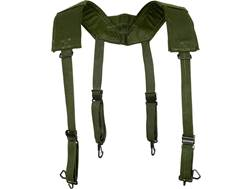 Military Surplus Belgian M56 Field Suspenders Grade 2 Olive Drab