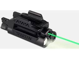LaserMax Spartan Weapon Light Mint Green LED with Laser Sight Picatinny-Style Rail Mount Matte