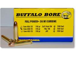 Buffalo Bore Ammunition 30 Carbine 110 Grain Full Metal Jacket Box of 20