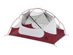 "MSR Hubba Hubba NX 2 Man Modified Dome Tent 84"" x 50"" x 39"" Polyester Red and White"