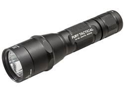 Surefire P2X Fury Tactical Flashlight LED with 2 CR123A Batteries Aluminum Black