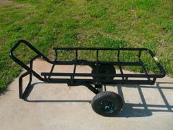 Viking Solutions Tilt-N-Go Game Cart Combo Steel Black