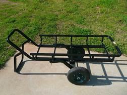 Viking Solutions Tilt-N-Go II Game Cart Steel Black