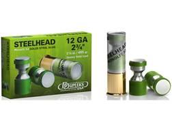 """DDupleks Steelhead Monolit 32 Ammunition 12 Gauge 2-3/4"""" 1-1/8 oz Solid Steel Slug Lead-Free Box ..."""