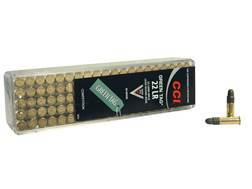 CCI Green Tag Competition Ammunition 22 Long Rifle 40 Grain Lead Round Nose Case of 5000 (50 Boxe...