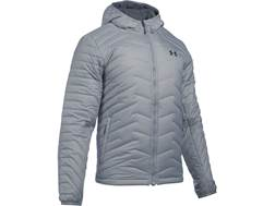 Under Armour Men's UA ColdGear Reactor Insulated Hooded Jacket Polyester and Nylon