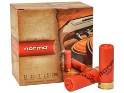 """Norma Ammunition 12 Gauge 2-3/4"""" 1 oz #7-1/2 Shot"""