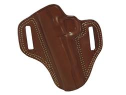 Galco Combat Master Belt Holster Left Hand Glock 19, 23, 32 Leather Tan