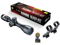 Nikon P-223 Range Ready Kit P-223 Rifle Scope 3-9x 40mm BDC 600 Reticle, P-Series Mount and Windm...