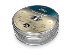H&N Baracuda Match Air Gun Pellets 177 Caliber 10.65 Grain 4.50mm Head-Size Domed Tin of 500