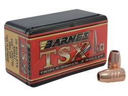 Barnes Triple-Shock X (TSX) Bullets 45-70 Caliber (458 Diameter) 250 Grain Flat Nose Lead-Free Bo...