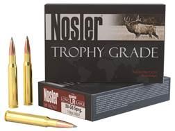 Nosler Trophy Grade Ammunition 30-06 Springfield 168 Grain AccuBond Long Range Box of 20